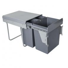 Segregator na odpady 40cm 3p 20 2x10L MOC. FRONTU-3710