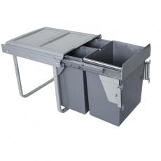 Segregator na odpady 45cm 3p 20 2x10L MOC. FRONTU-3716