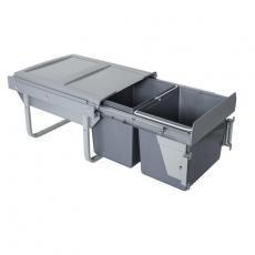 Segregator na odpady 45cm 2w 15 15L NISKI M.FRONTU-3714