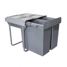 Segregator na odpady 60cm 2p 34 34L-3717