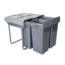 Segregator na odpady 60cm 3p 34+2x17L
