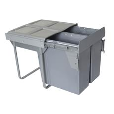 Segregator na odpady 60cm 2p 34 34L MOC. FRONTU-3722