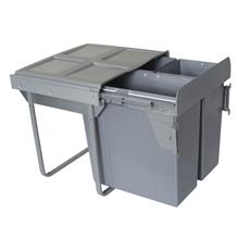 Segregator na odpady 60cm 3p 34 2x17L MOC. FRONTU-3721