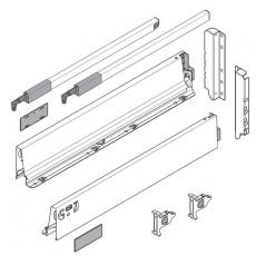 BLUM TANDEMBOX SZARY szuflada 400mm wys. D komplet-4989